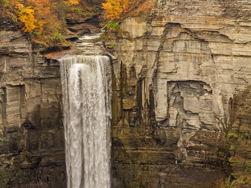 Autumn Waterfalls of the Finger Lakes, USA