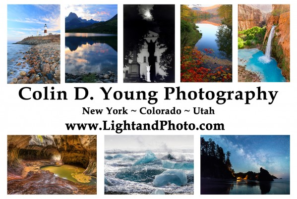 Colin D. Young Photography Logo