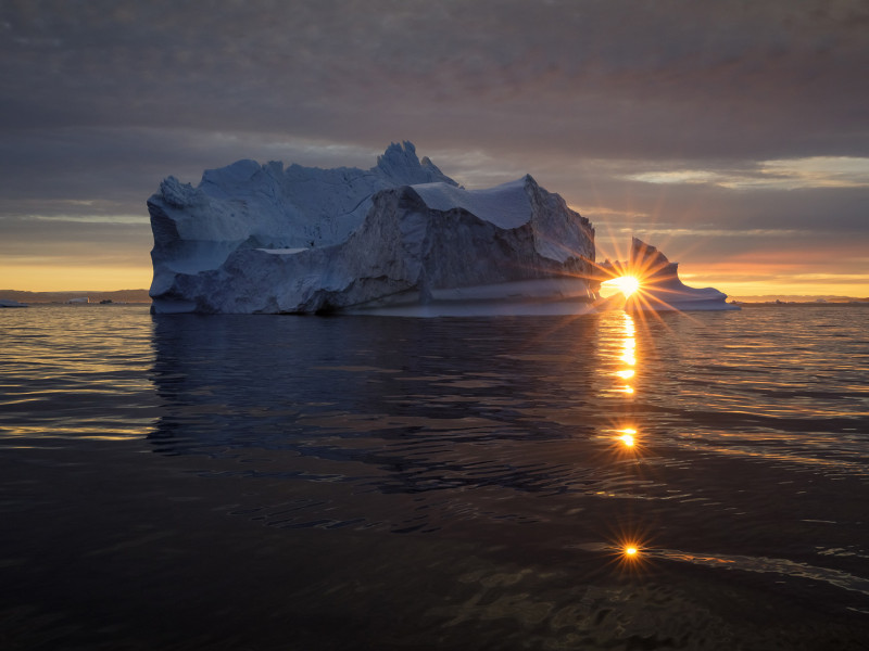 Iceberg Photography in Greenland by Speedboat