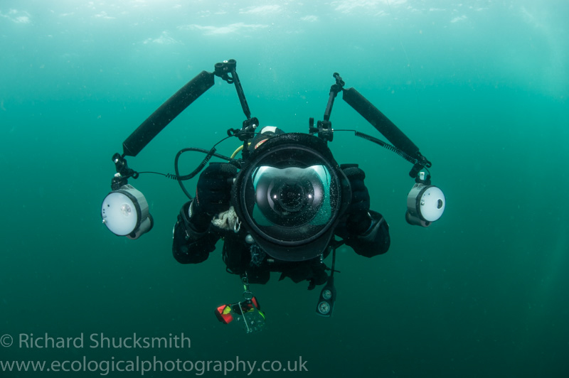 Wide-angle Underwater Housing