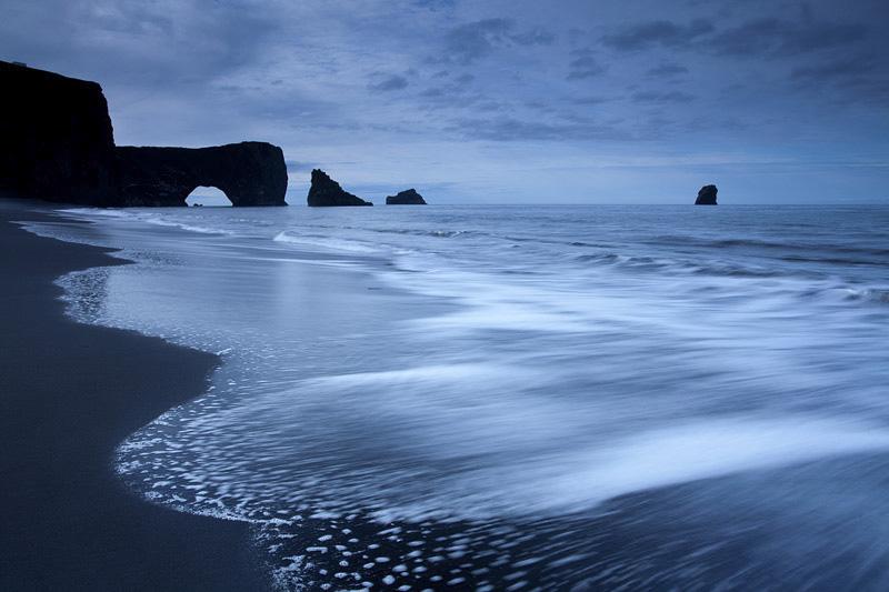 Sea in Dark Dull Weather