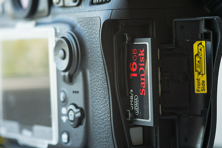 Nikon D810 Memory