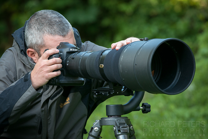 Richard Peters Photographing Birds in Flight Gear