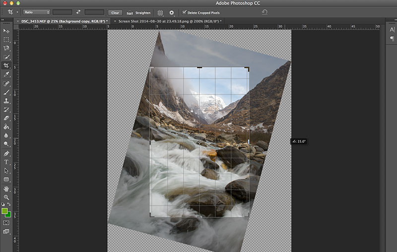 Crop Tool Photoshop