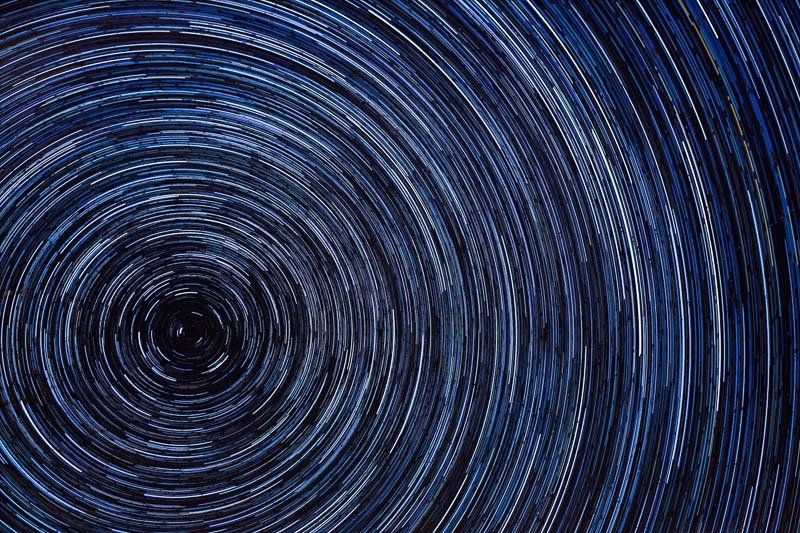 star trail polaris