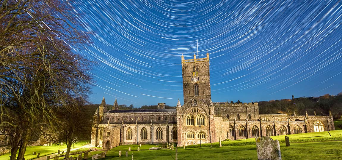 how to take a star trail image
