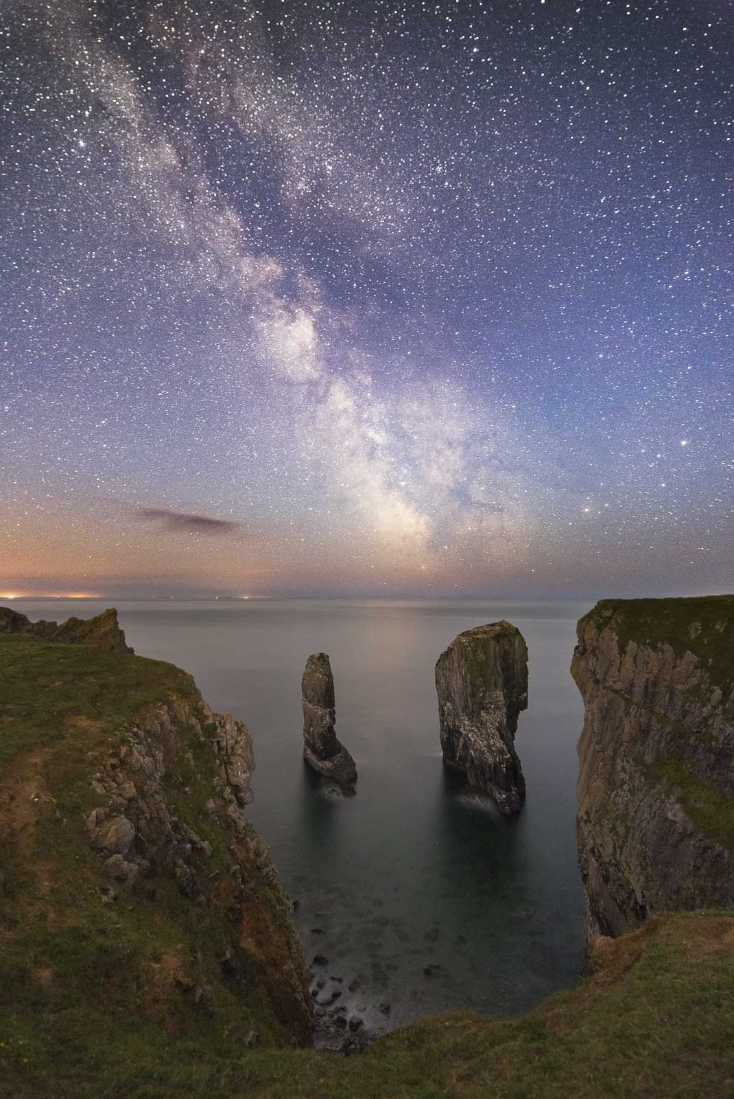 how to photograph milky way at night