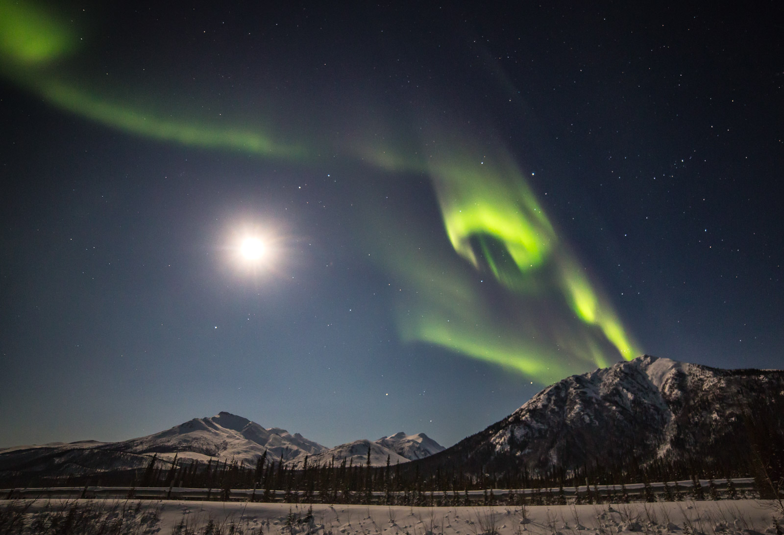 alaska northern lights locations