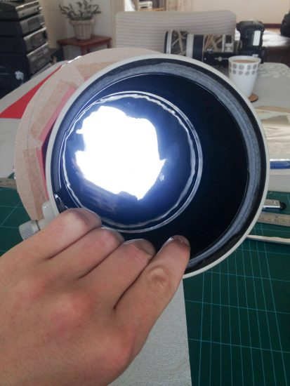 how to make a solar eclipse filter telephoto lens