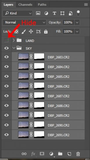 stack star photos reduce noise lightroom