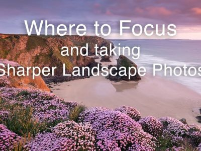 where to focus landscape photography
