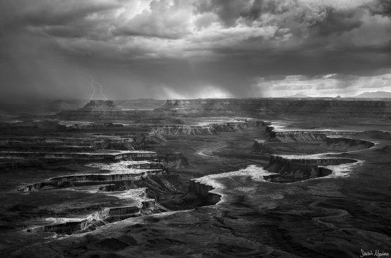 black and white landscape photography-2